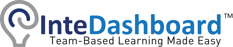 InteDashboard™ – Team-Based Learning Made Easy!